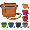 HILL BURRY • SADDLE BAG AUS WEICHEM LEDER