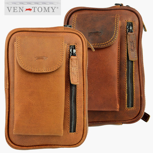 VEN TOMY • LEATHER WRIST BAG
