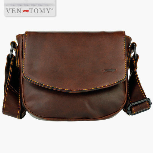 VEN TOMY • SADDLE BAG AUS LEDER