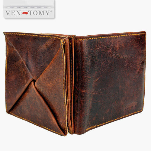 VEN-TOMY LEATHER WALLET WITH RFID PROTECTION