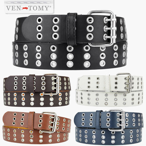 VEN-TOMY • HOLE BELTS LEATHER IMITATION UP TO 125 CM