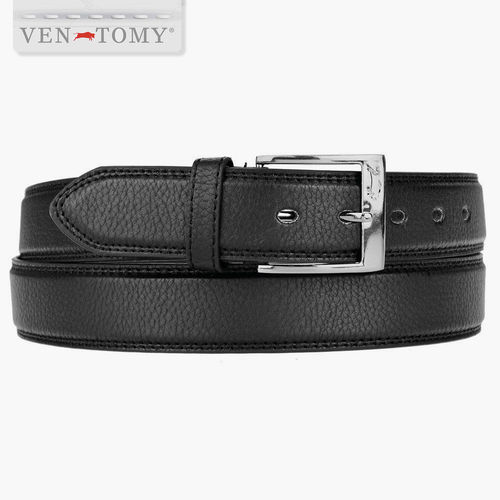 VEN-TOMY BELT LEATHER DOUBLE-SEWED UP TO 155 CM