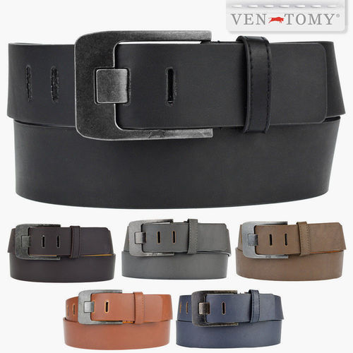 VEN-TOMY • WIDE LEATHER IMITATION BELT UP TO 125 CM