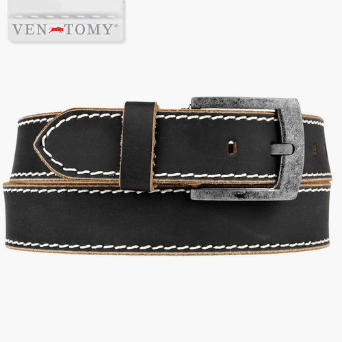 VEN-TOMY • FASHIONABLE LEATHER BELT UP TO 130 CM