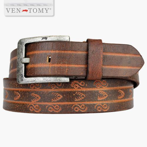 VEN-TOMY • LEATHER BELT UP TO 125 CM