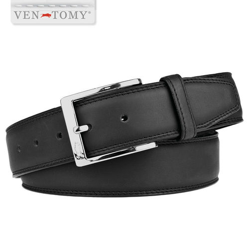 VEN-TOMY • MEN'S BELT IN LEATHER UP TO 130 CM