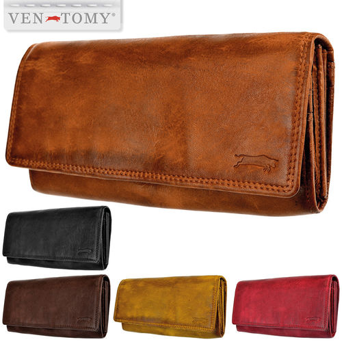 VEN-TOMY • Soft leather wallet