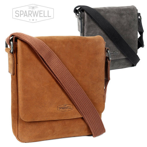 SPARWELL • Cross Body Bag aus Leder