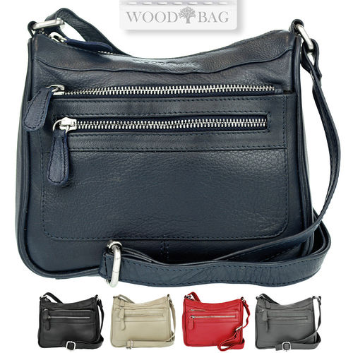 WOODBAG • Small leather women´s bag
