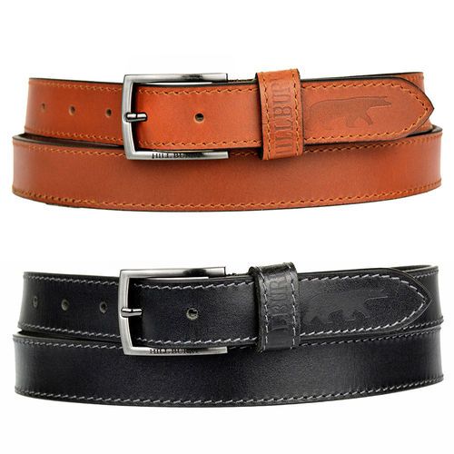HILL BURRY • Leather belt