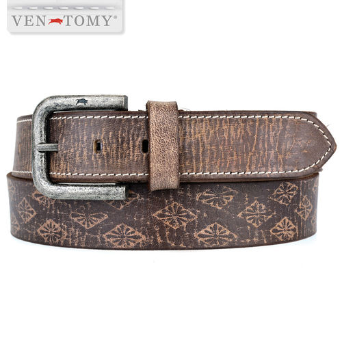 VEN-TOMY • Belt made of buffalo leather up to 130 cm